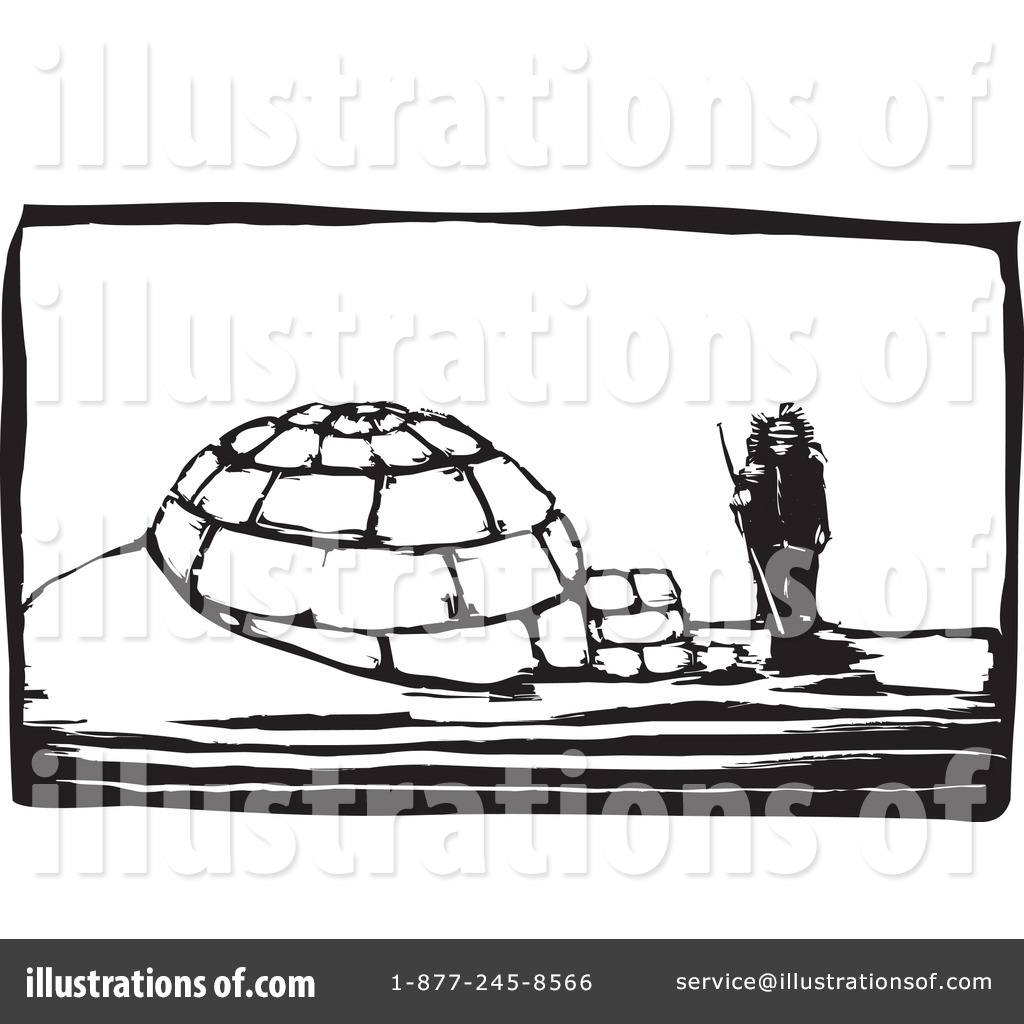hight resolution of royalty free rf igloo clipart illustration 97810 by xunantunich
