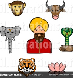 royalty free rf indian clipart illustration by vector tradition sm stock sample [ 1024 x 1024 Pixel ]