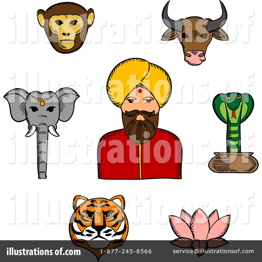 hight resolution of royalty free rf indian clipart illustration by vector tradition sm stock sample