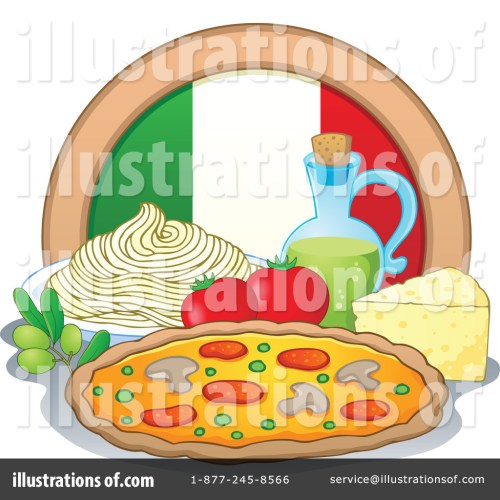 small resolution of royalty free rf italian cuisine clipart illustration 1114862 by visekart