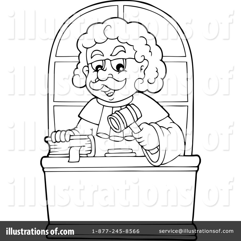 Judge Clipart