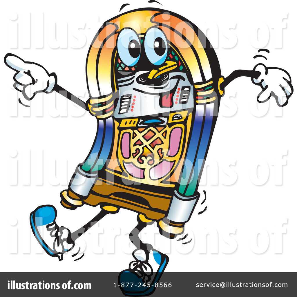 hight resolution of royalty free rf jukebox clipart illustration by dennis holmes designs stock sample