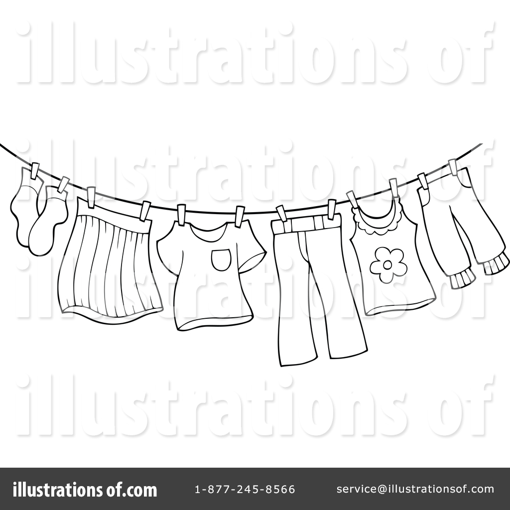 Laundry Clipart