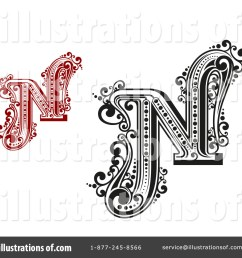 royalty free rf letter n clipart illustration 1184740 by vector tradition sm [ 1024 x 1024 Pixel ]