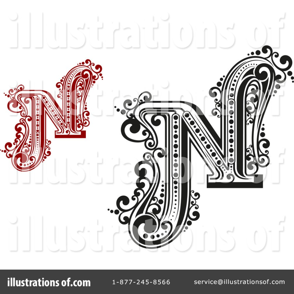 medium resolution of royalty free rf letter n clipart illustration 1184740 by vector tradition sm