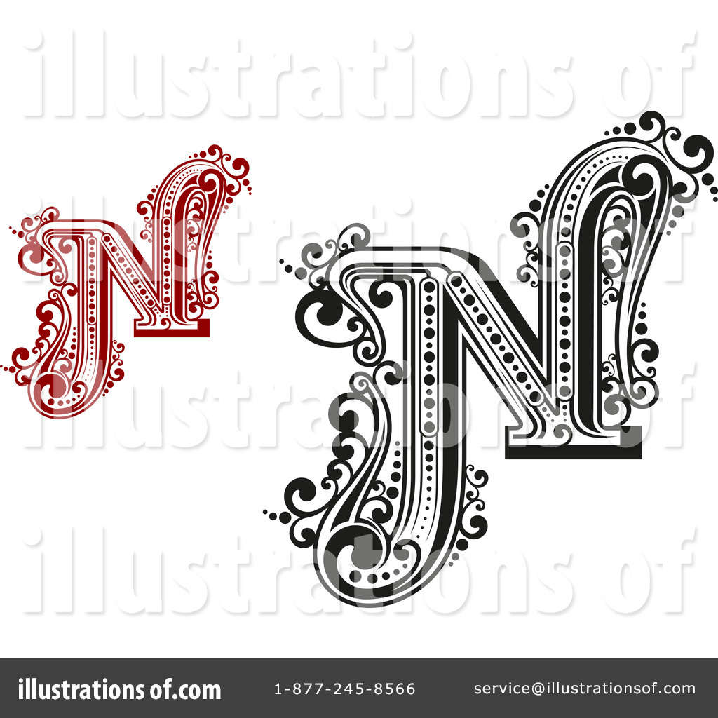 hight resolution of royalty free rf letter n clipart illustration 1184740 by vector tradition sm