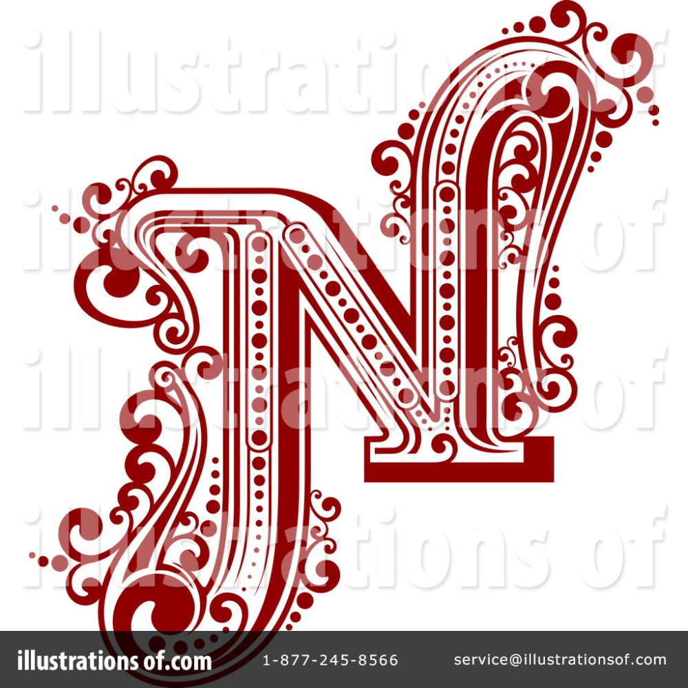 medium resolution of royalty free rf letter n clipart illustration 1184758 by vector tradition sm