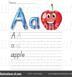 Letter Worksheet Clipart #1118916 - Illustration by Graphics RF [ 1024 x 1024 Pixel ]