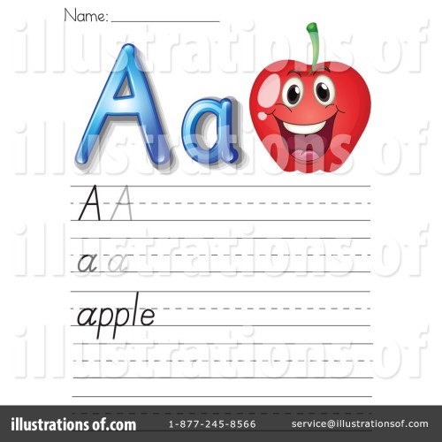 small resolution of Letter Worksheet Clipart #1118916 - Illustration by Graphics RF