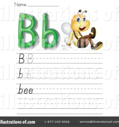 Letter Worksheet Clipart #1118917 - Illustration by Graphics RF [ 1024 x 1024 Pixel ]