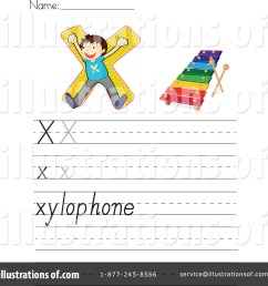 Letter Worksheet Clipart #1118963 - Illustration by Graphics RF [ 1024 x 1024 Pixel ]