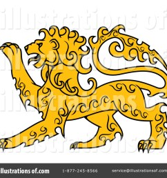 royalty free rf lion clipart illustration by vector tradition sm stock sample [ 1024 x 1024 Pixel ]