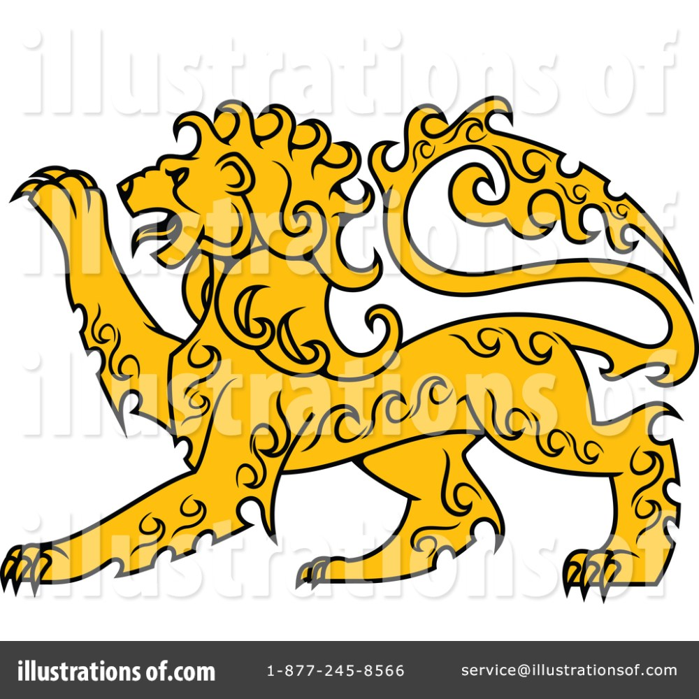 medium resolution of royalty free rf lion clipart illustration by vector tradition sm stock sample