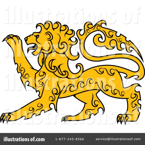 small resolution of royalty free rf lion clipart illustration by vector tradition sm stock sample