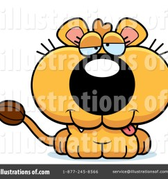 royalty free rf lioness clipart illustration 1091272 by cory thoman [ 1024 x 1024 Pixel ]