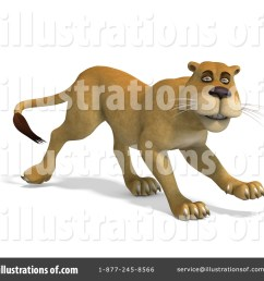 royalty free rf lioness clipart illustration 1074965 by ralf61 [ 1024 x 1024 Pixel ]
