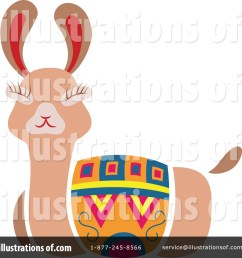royalty free rf llama clipart illustration 1551791 by cherie reve [ 1024 x 1024 Pixel ]