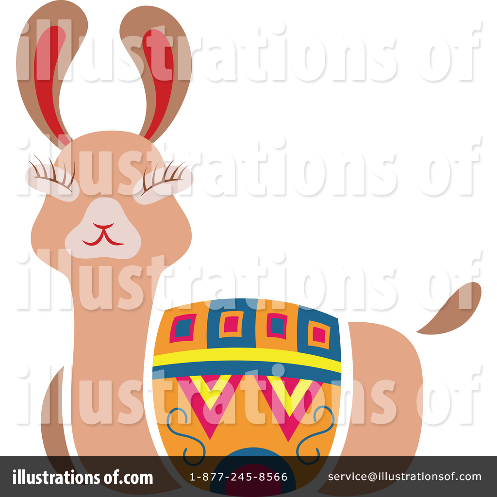 hight resolution of royalty free rf llama clipart illustration 1551791 by cherie reve