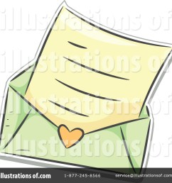 royalty free rf love letter clipart illustration 1150751 by bnp design studio [ 1024 x 1024 Pixel ]