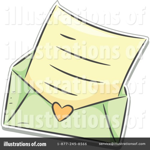 small resolution of royalty free rf love letter clipart illustration 1150751 by bnp design studio