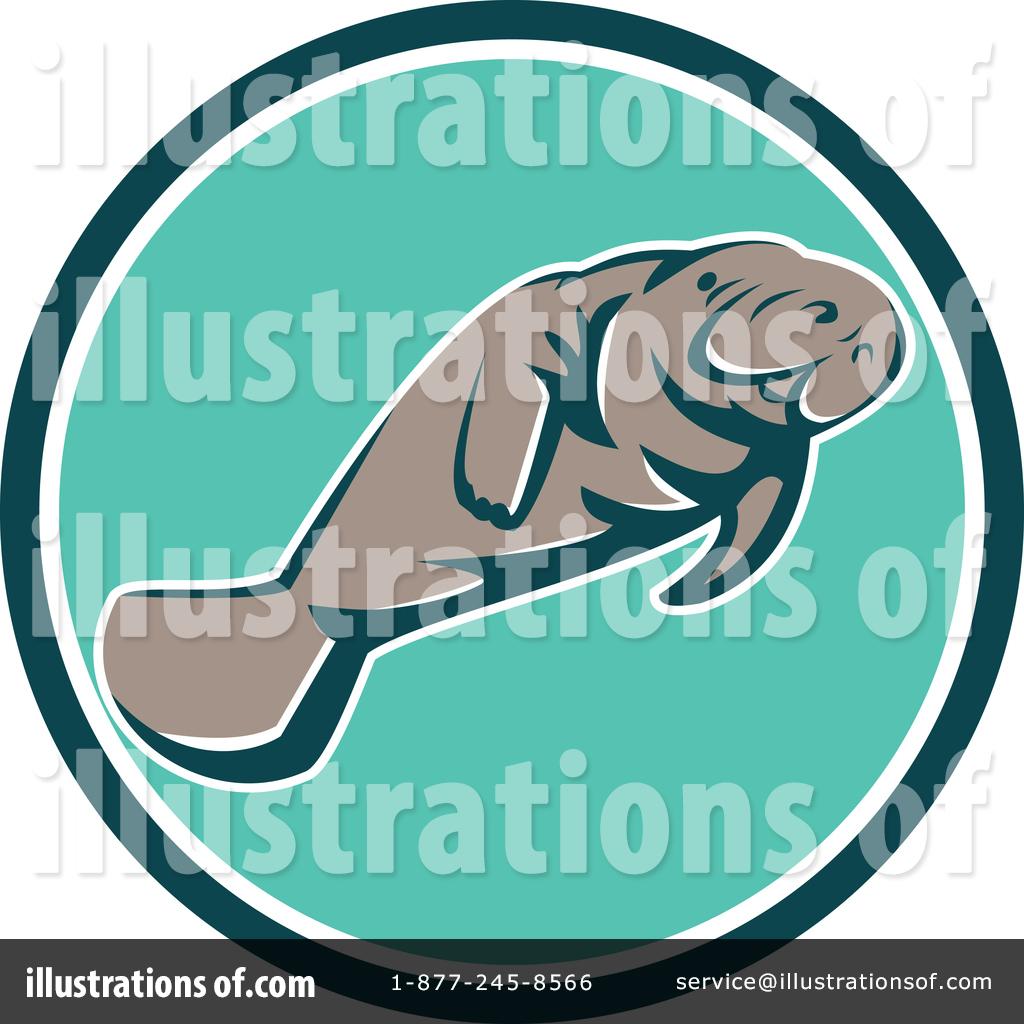 hight resolution of royalty free rf manatee clipart illustration 1400974 by patrimonio