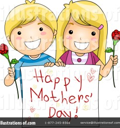 royalty free rf mothers day clipart illustration 1063482 by bnp design studio [ 1024 x 1024 Pixel ]