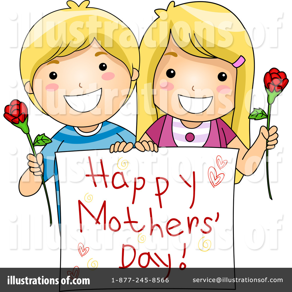 hight resolution of royalty free rf mothers day clipart illustration 1063482 by bnp design studio
