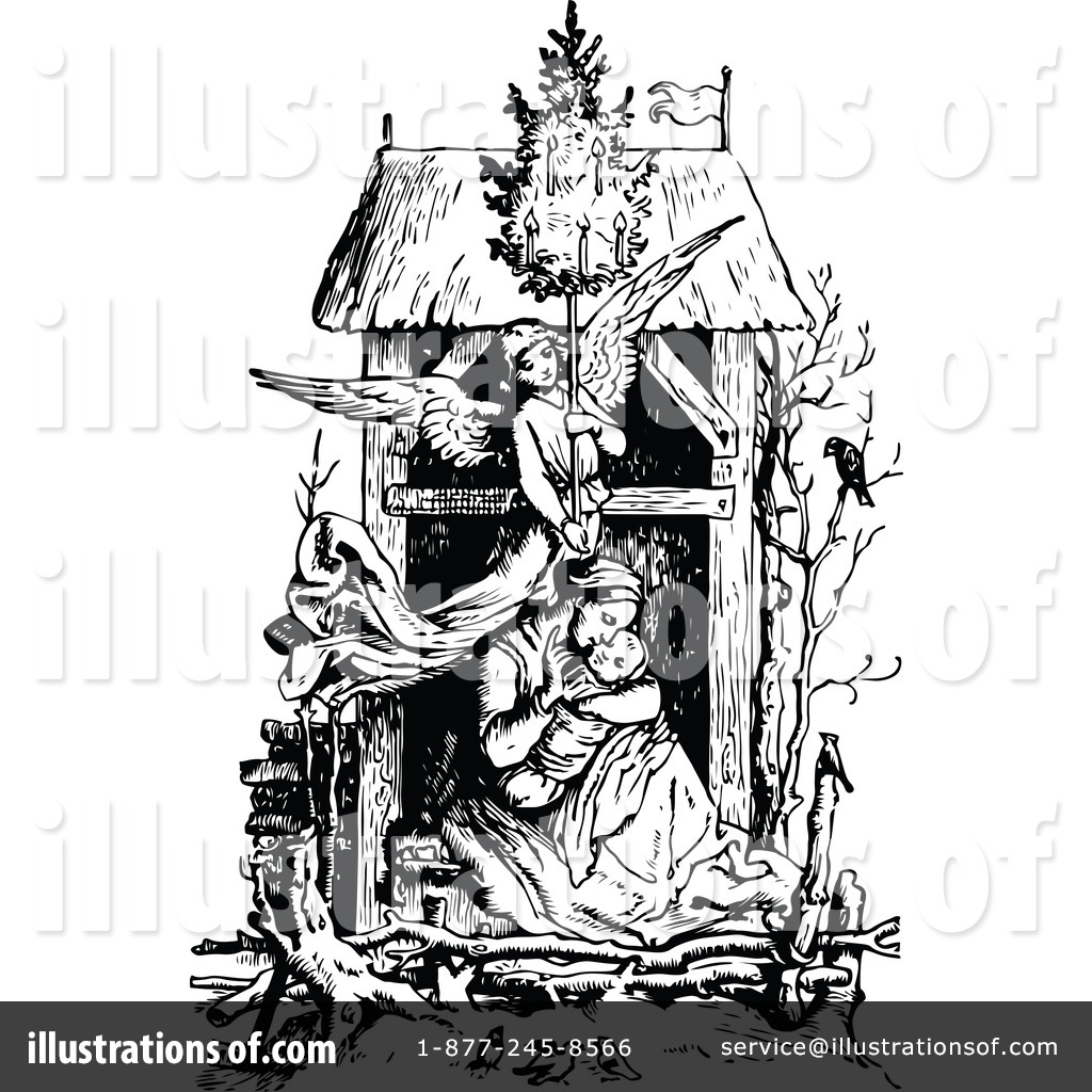 hight resolution of royalty free rf nativity clipart illustration 1154743 by prawny vintage