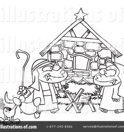 royalty free rf nativity clipart illustration 439006 by toonaday [ 1024 x 1024 Pixel ]