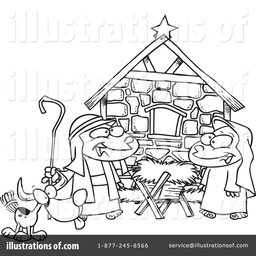 hight resolution of royalty free rf nativity clipart illustration 439006 by toonaday