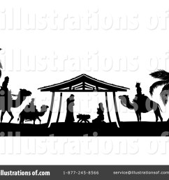 royalty free rf nativity scene clipart illustration 1429553 by atstockillustration [ 1024 x 1024 Pixel ]