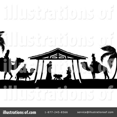 small resolution of royalty free rf nativity scene clipart illustration 1429553 by atstockillustration