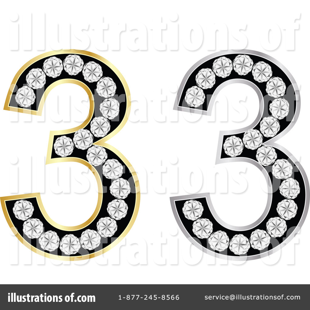 hight resolution of royalty free rf number 3 clipart illustration by andrei marincas stock sample