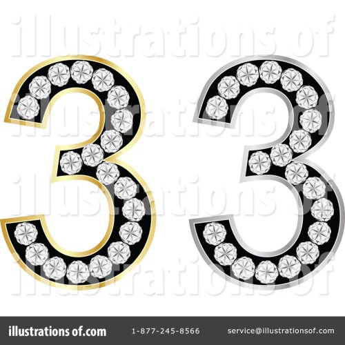 small resolution of royalty free rf number 3 clipart illustration by andrei marincas stock sample
