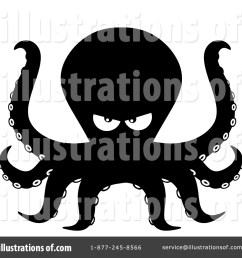 royalty free rf octopus clipart illustration 1458792 by hit toon [ 1024 x 1024 Pixel ]