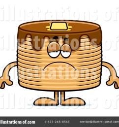 royalty free rf pancakes clipart illustration 1194768 by cory thoman [ 1024 x 1024 Pixel ]