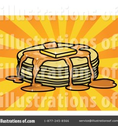 royalty free rf pancakes clipart illustration 45751 by r formidable [ 1024 x 1024 Pixel ]
