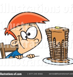 royalty free rf pancakes clipart illustration 1145105 by toonaday [ 1024 x 1024 Pixel ]