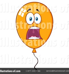 royalty free rf party balloon clipart illustration by hit toon stock sample [ 1024 x 1024 Pixel ]