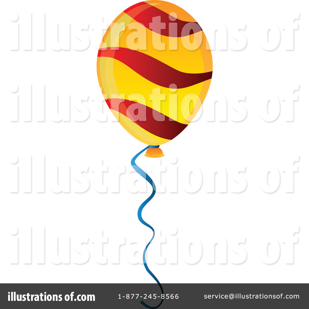 hight resolution of royalty free rf party balloon clipart illustration by tonis pan stock sample