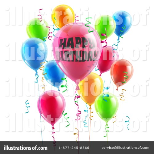 small resolution of royalty free rf party balloons clipart illustration 1263573 by atstockillustration
