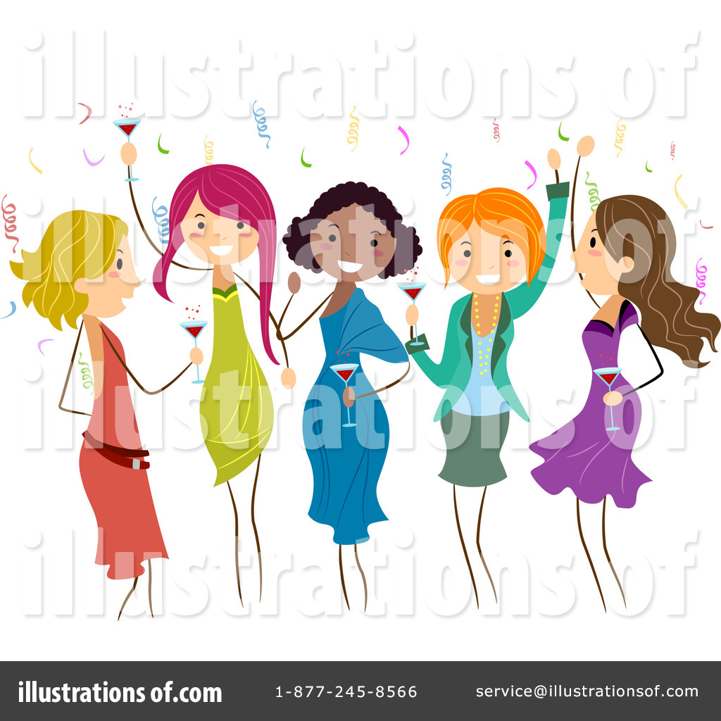 hight resolution of royalty free rf party clipart illustration by bnp design studio stock sample