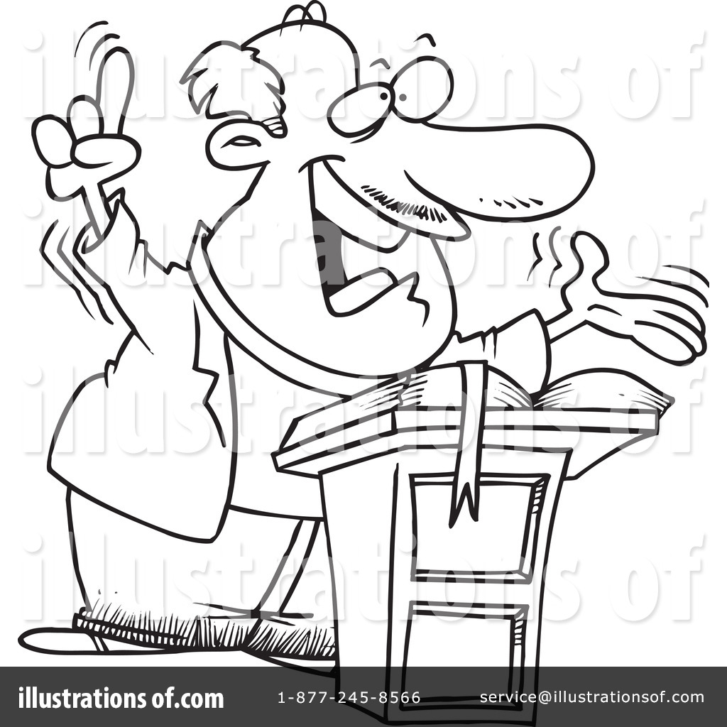 Preacher Clipart