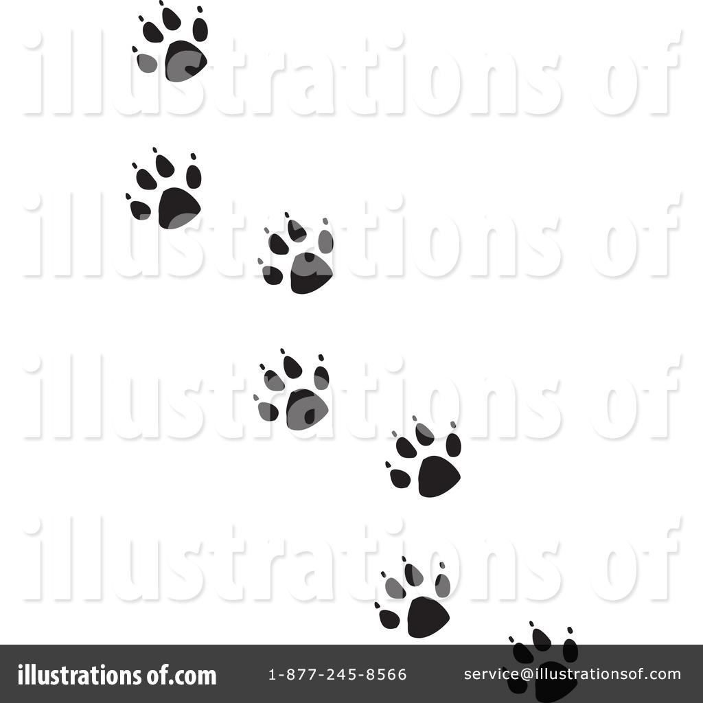 Paw Prints Clipart
