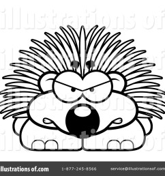royalty free rf porcupine clipart illustration 1136383 by cory thoman [ 1024 x 1024 Pixel ]