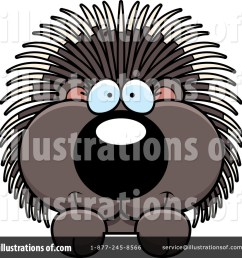 royalty free rf porcupine clipart illustration 1200165 by cory thoman [ 1024 x 1024 Pixel ]