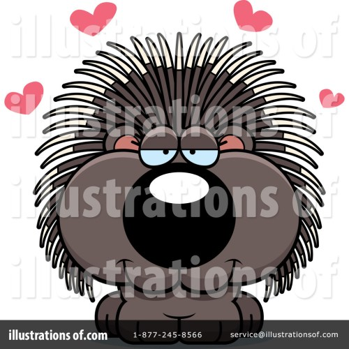 small resolution of royalty free rf porcupine clipart illustration 1200166 by cory thoman