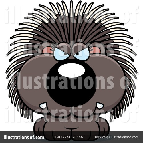 small resolution of royalty free rf porcupine clipart illustration 1200167 by cory thoman