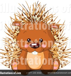 royalty free rf porcupine clipart illustration 1114159 by pushkin [ 1024 x 1024 Pixel ]