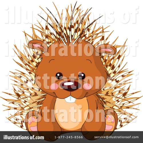small resolution of royalty free rf porcupine clipart illustration 1114159 by pushkin